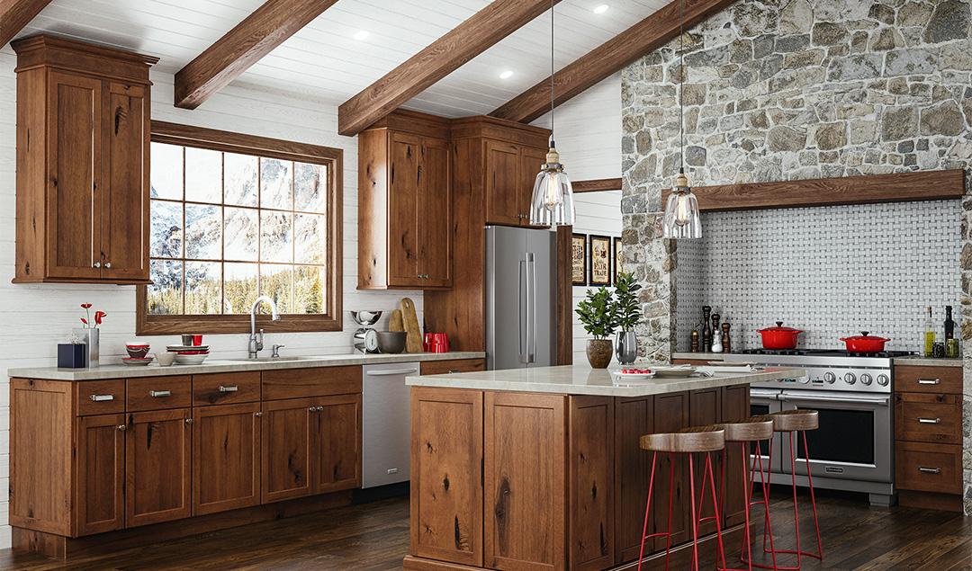 Upton Kitchen - Brown